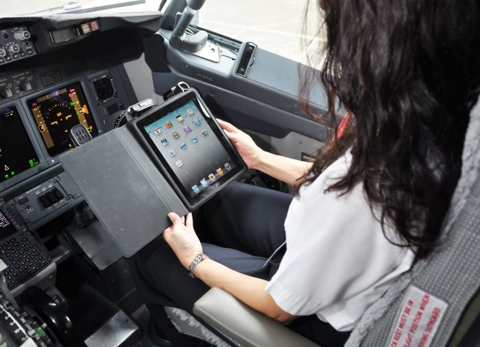 El iPad se convierte en una herramienta clave de vuelo