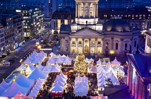 Berlín se viste de blanco
