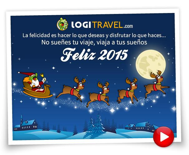 ¡Logitravel os desea Felices Fiestas!
