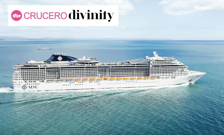 Crucero Divinity, el glamour llega al mar