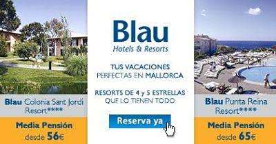 Blau Colonia Sant Jordi y Blau Punta Reina
