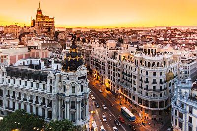 Madrid, Londres y París a vista de drones