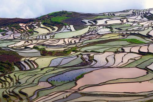 Un paseo por los destinos más coloridosdel planeta