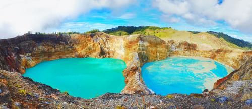 Un viaje por los lagos de colores más espectaculares del mundo
