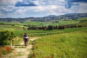 Un paseo en bici por la Toscana