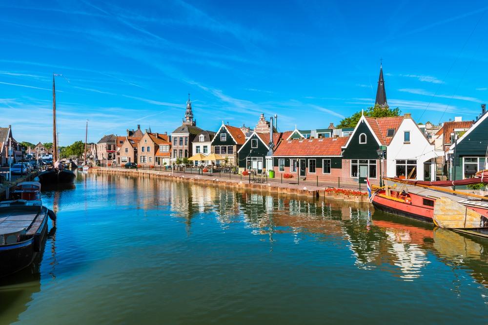 4 pueblecitos portuarios mágicos cerca de Amsterdam