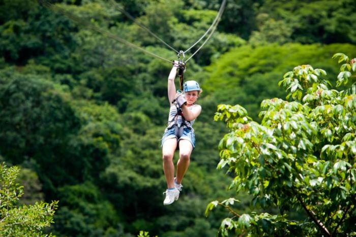 Canopy en Monteverde