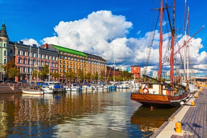 El encanto de Puerto Viejo de Helsinki