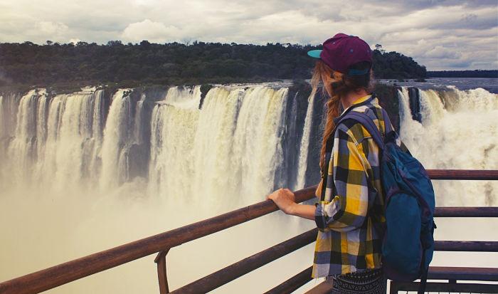 Cataratas del Iguazú. Una de las nuevas 7 maravillas naturales del mundo.