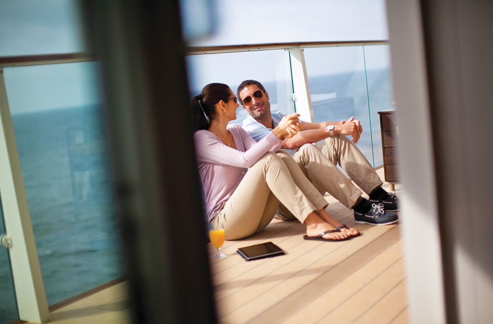 Camarote con balcón