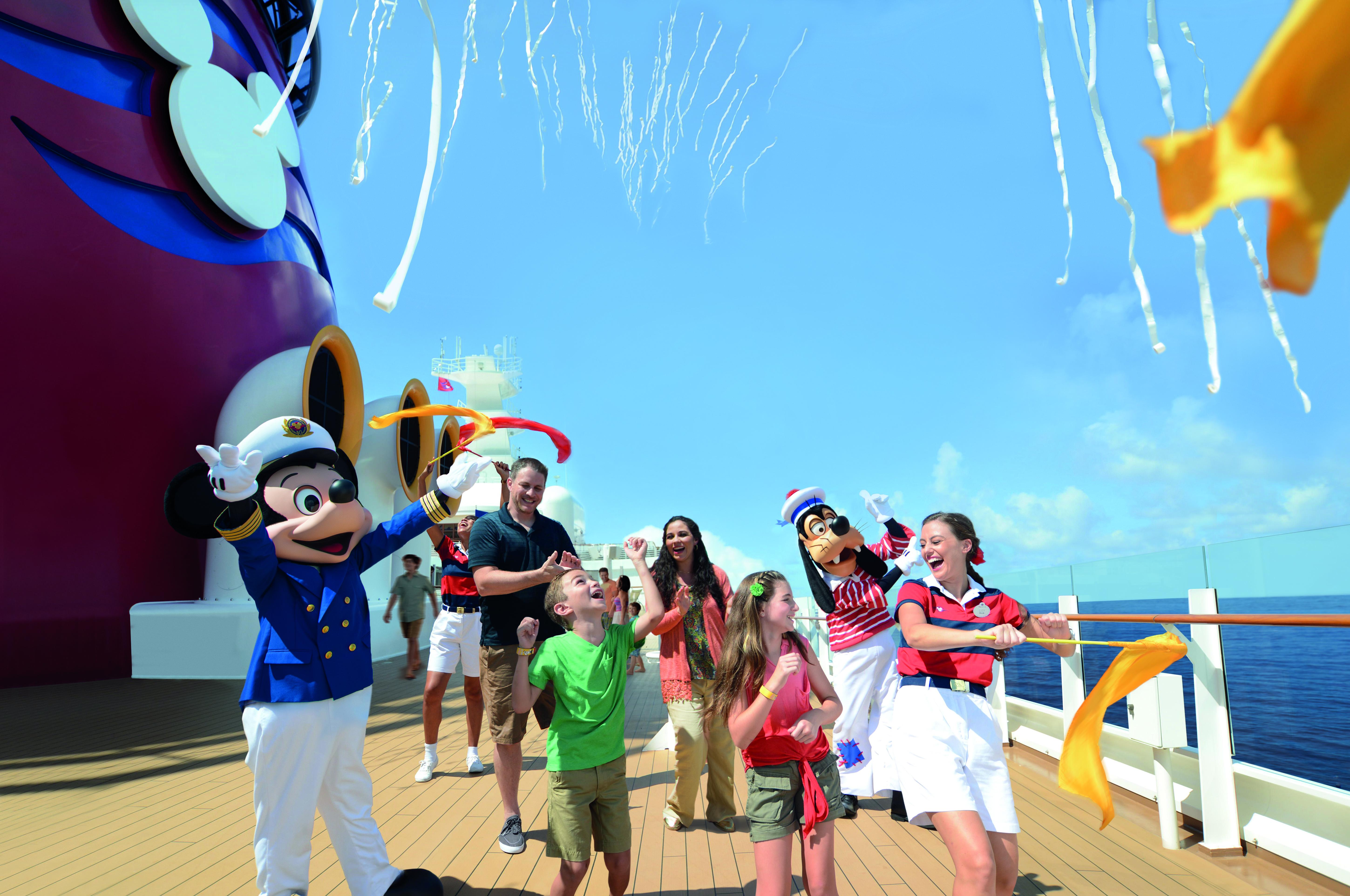 A bordo de un crucero Disney