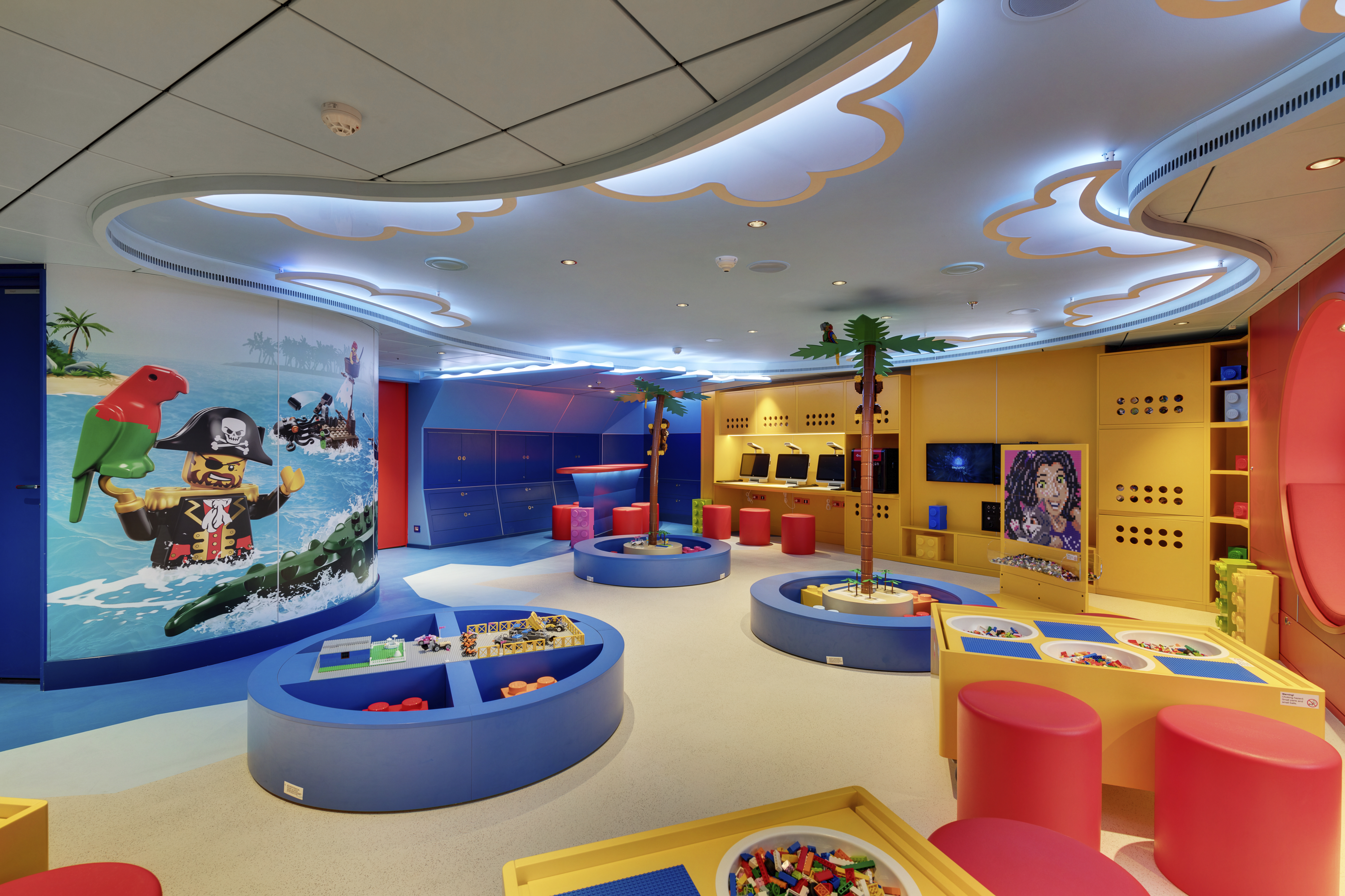 MSC Seaside, Junior Club Lego