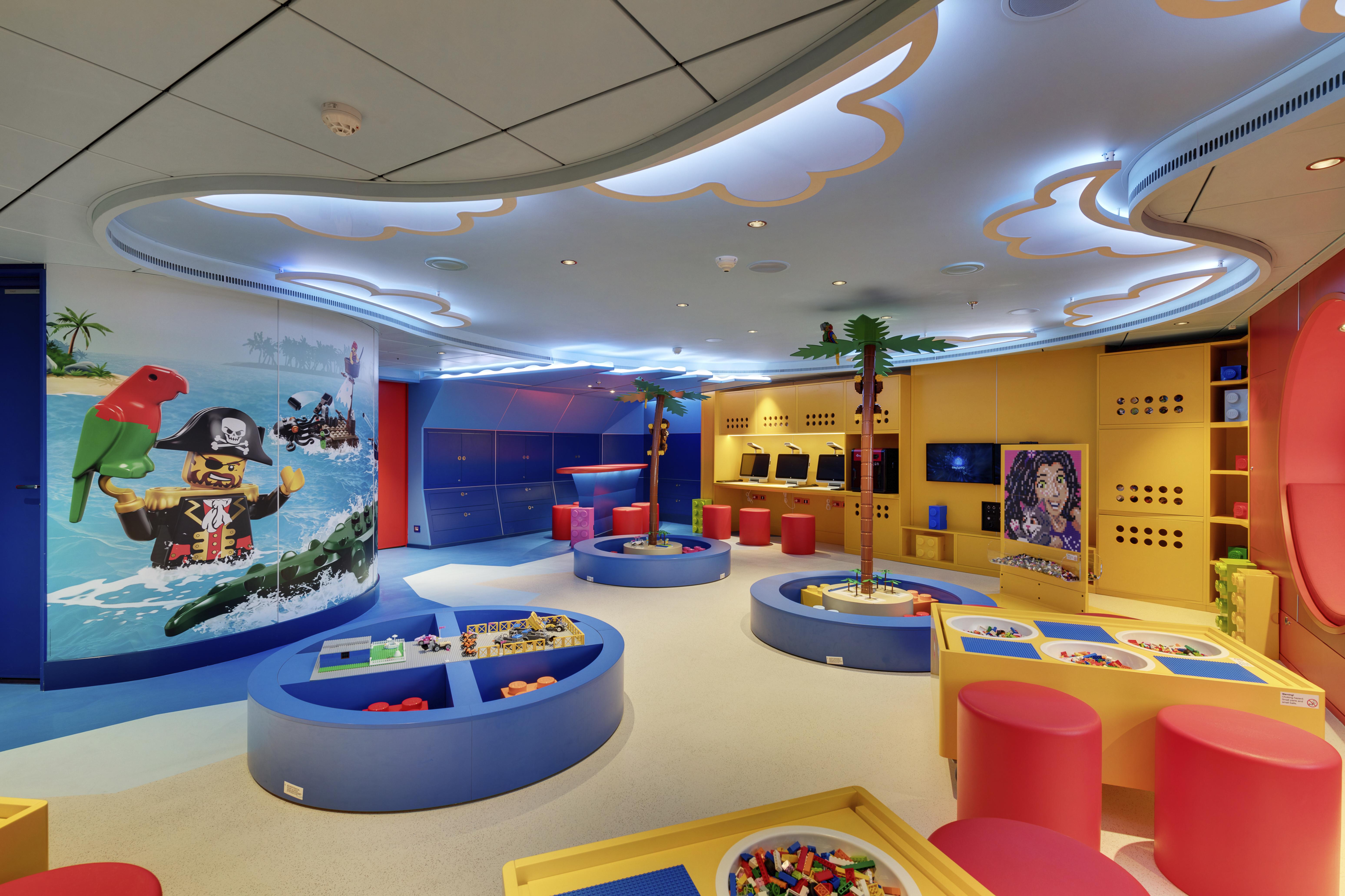 MSC Seaside, Junior Club Lego