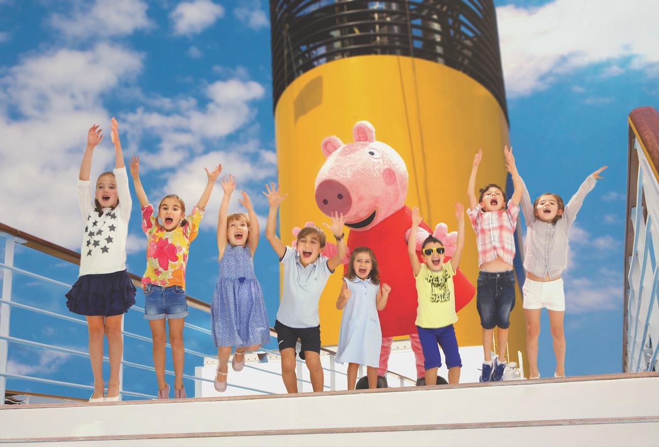 Peppa Pig, en Costa Cruceros