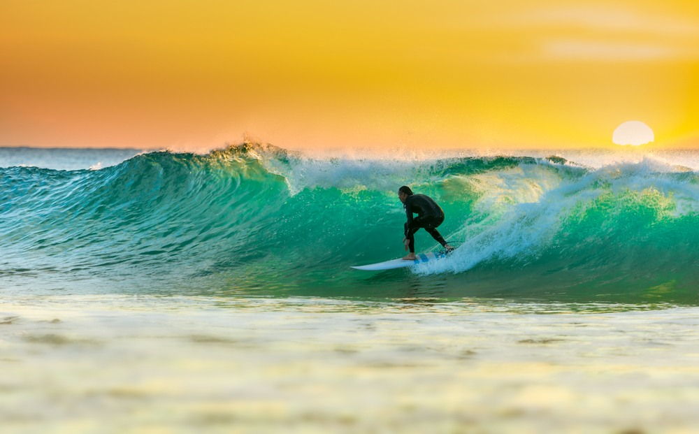 8 playas ideales para practicar surf