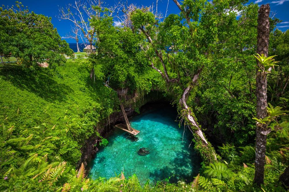 To Sua Ocean Trench en Samoa