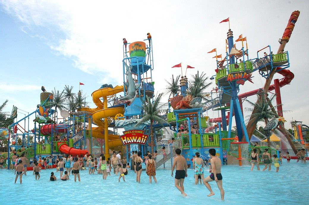 Chimelong Water Park en Guangzhou