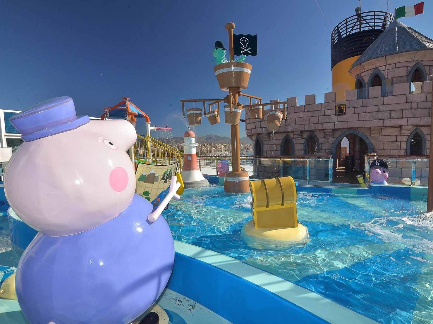 Peppa Pig a bordo
