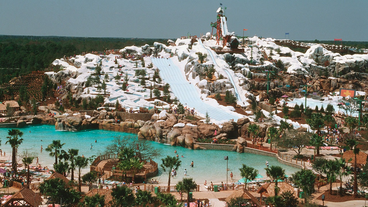 Disney's Blizzard Beach en Orlando, Florida