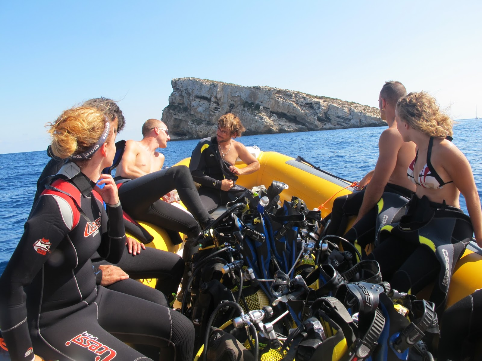Submarinismo en aguas de Benidorm