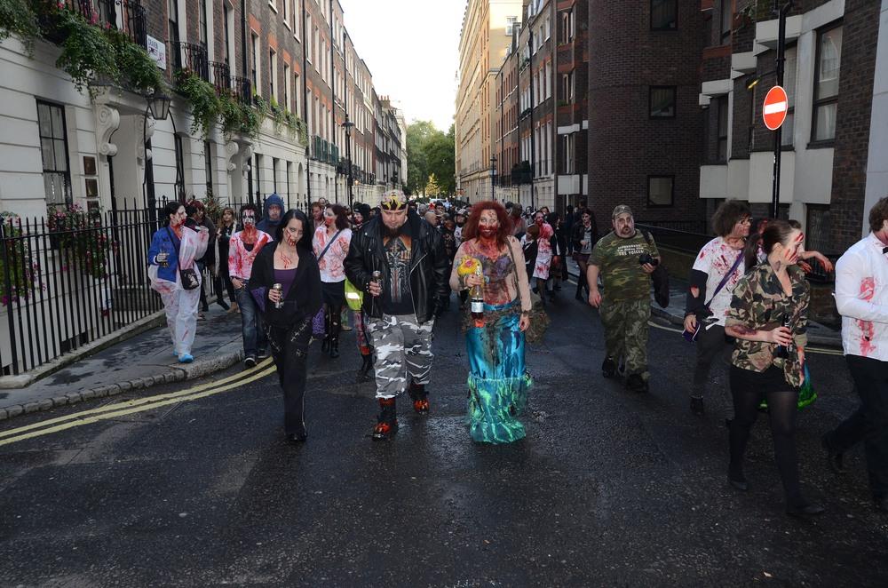 Halloween en las calles de Londres