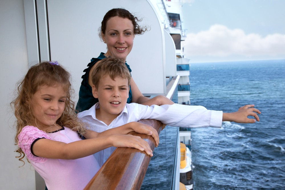 Crucero en familia