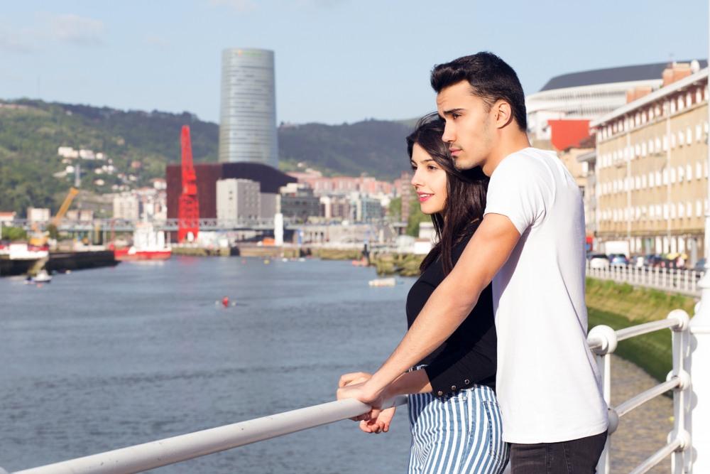Pareja en Bilbao