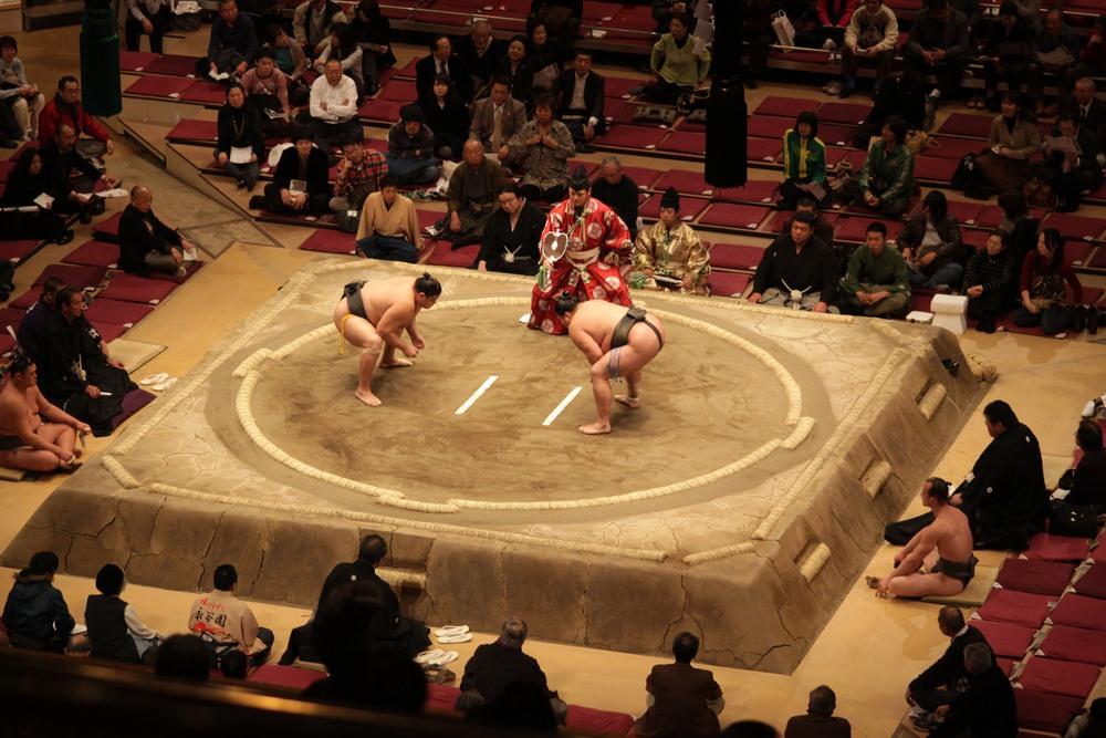 Torneo de Sumo en Tokyo