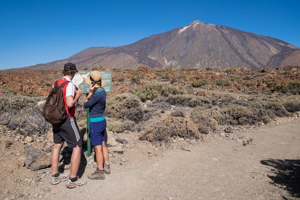 Subida al Teide a pie
