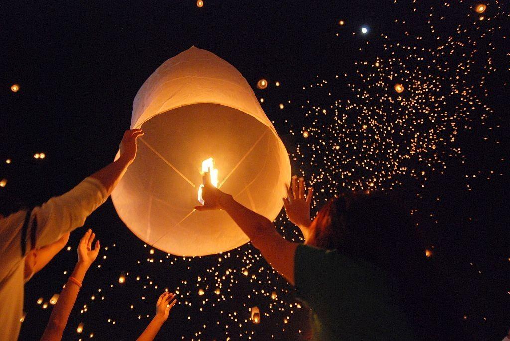 Tradición de globos en Argentina