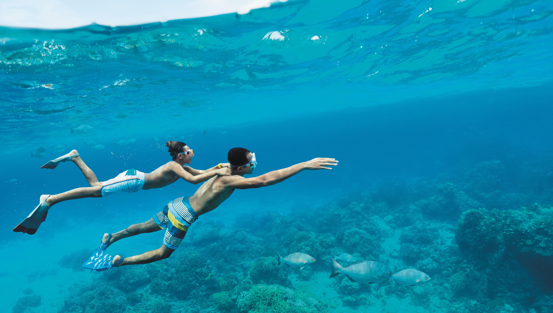 Actividades acuáticas en el Caribe