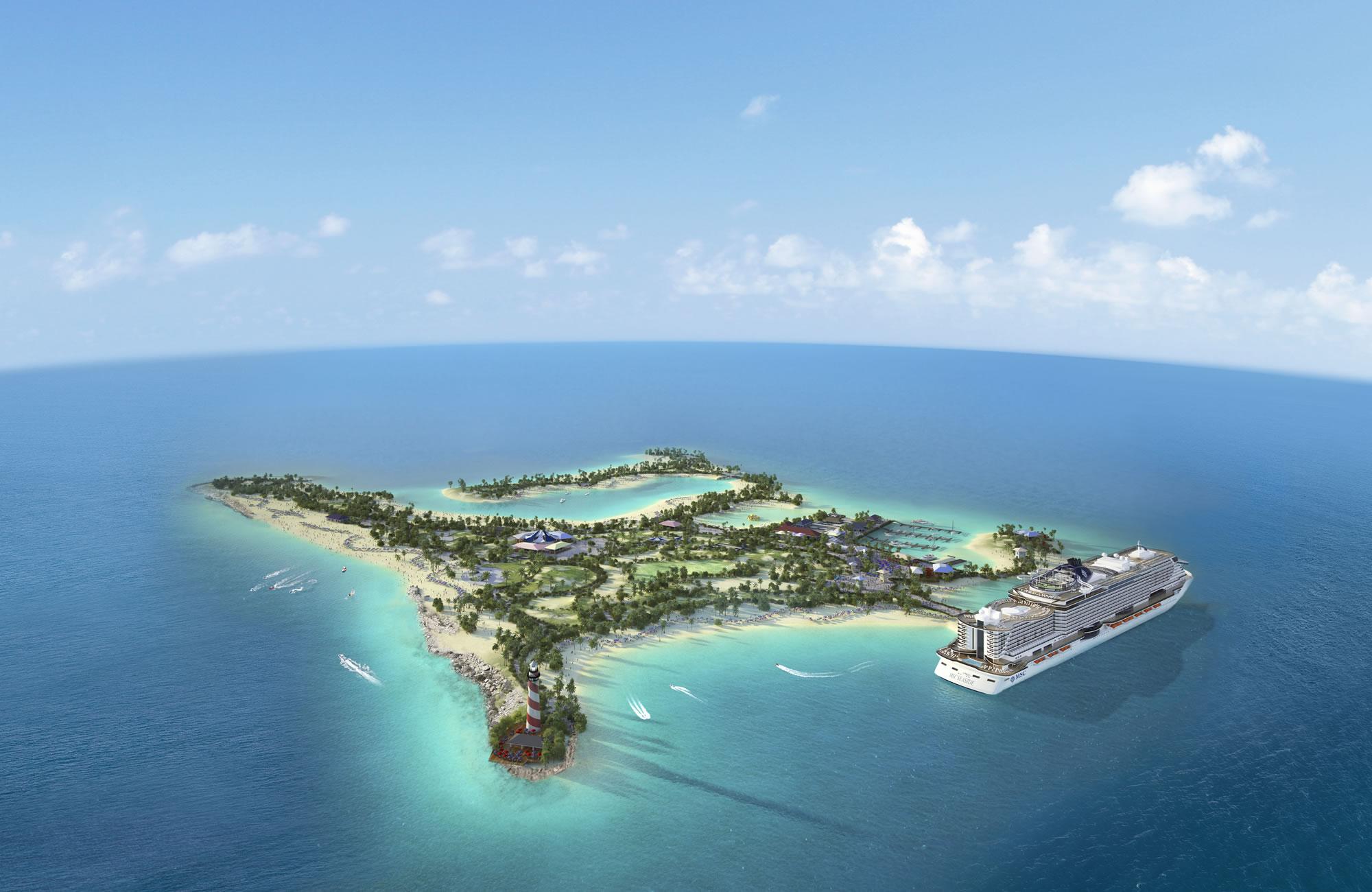 Ocean Cay, Msc Cruceros