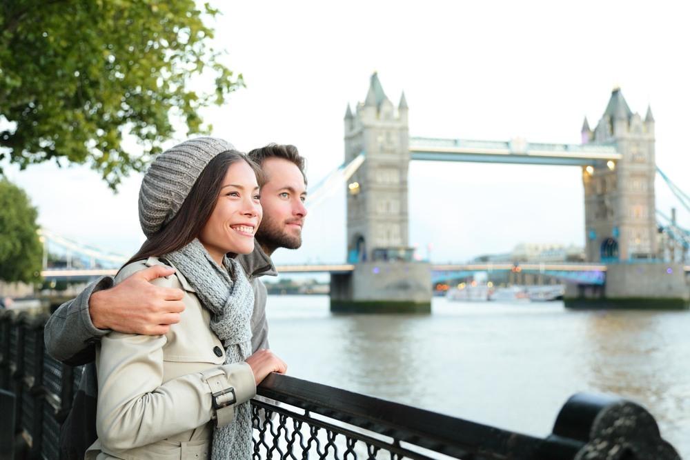 Pareja en Londres