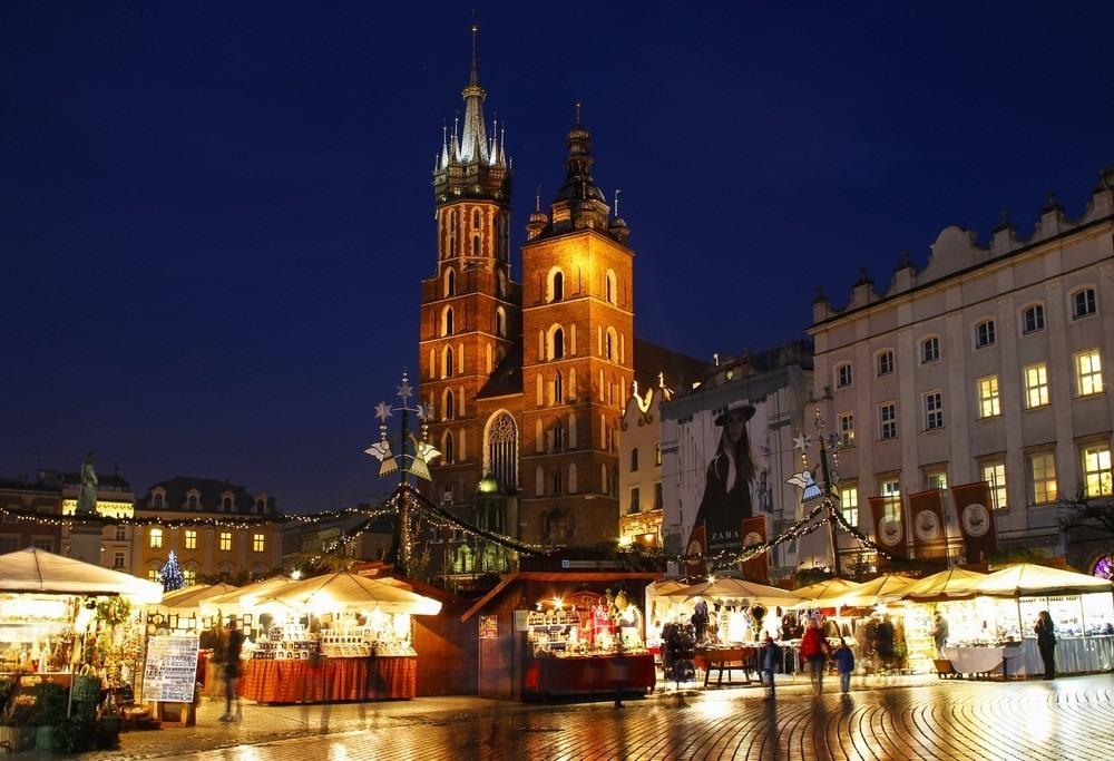 Mercadillo Navideño en Cracovia