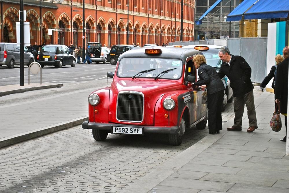 Conversación con taxista de Londres