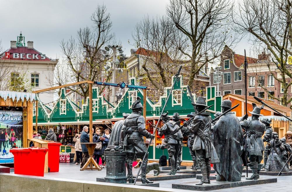 Mercadillo Navideño en Amsterdam