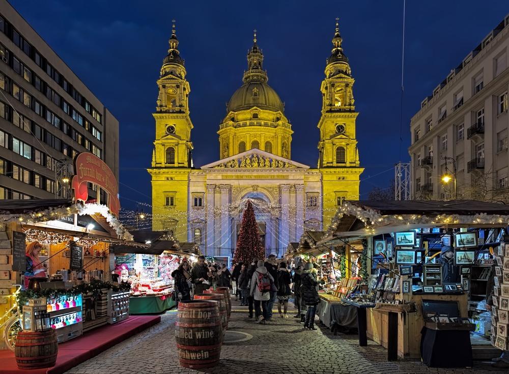 Mercadillo Navideño en Budapest