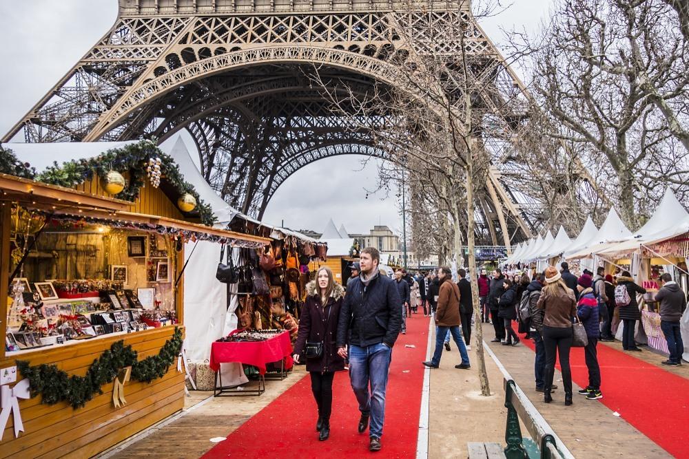 Mercadillo Navideño en París