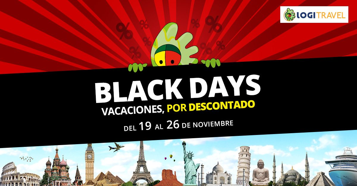 Black Friday en Logitravel, ¡una semana de descuentos!