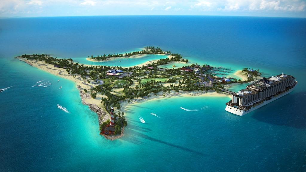 Islas privadas para cruceros