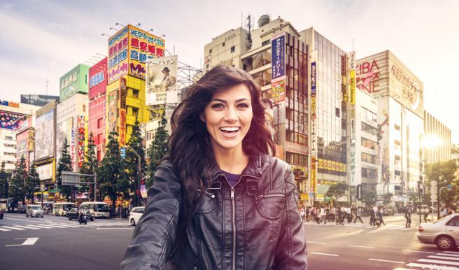 Turismo por las calles de Tokio