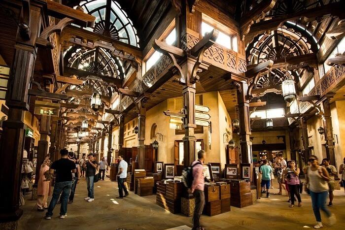 Interior del Madinat Jumeirah