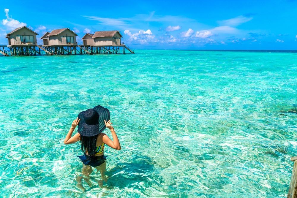 Bahía paradisíaca, Maldivas