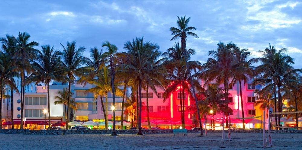 Ocean Drive en Miami Beach