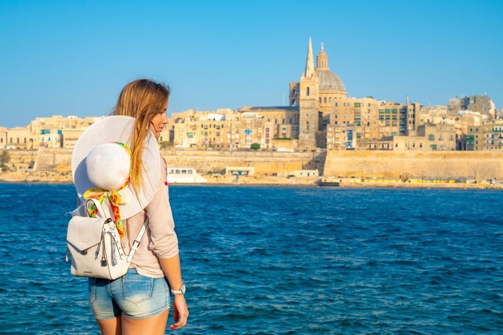 Vistas a La Valeta en Malta