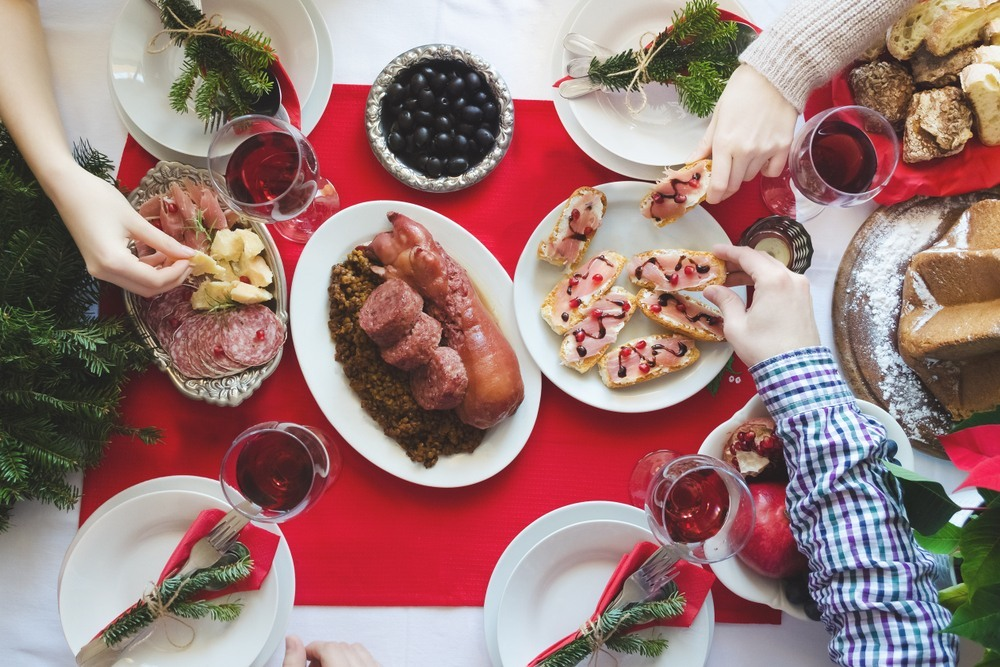 Cena de Nochevieja en Italia