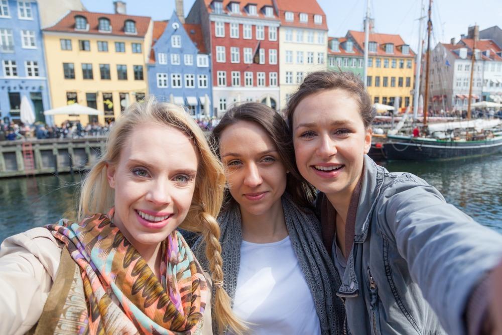 Amigas danesas en Copenhague