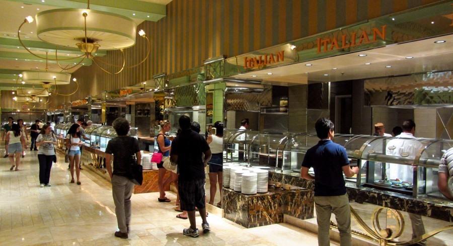 Buffet del Hotel Wynn