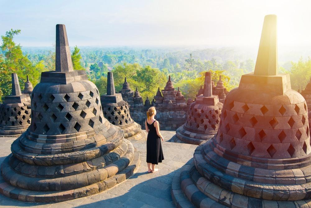 Santuário budista de Borobudur