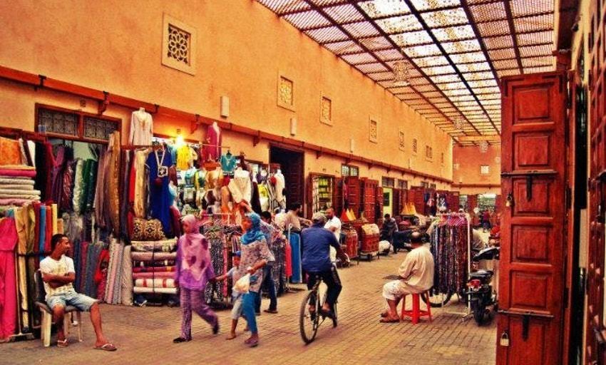 Mercado cubierto de Mellah